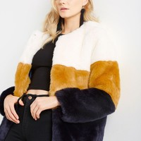 Trace Faux Fur Coat