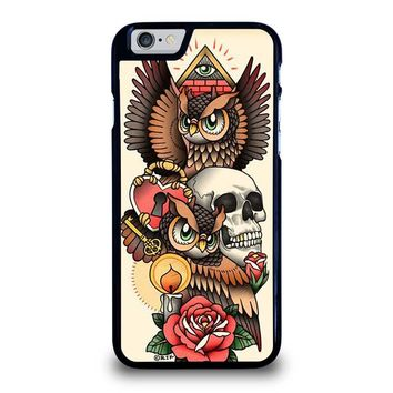 OWL STEAMPUNK ILLUMINATI TATTOO iPhone 6 / 6S Case Cover