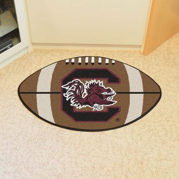 FANMATS University of South Carolina Football Mat - Man Cave, Bar, Game Room