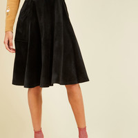 Vim for Velvet Midi Skirt | Mod Retro Vintage Skirts | ModCloth.com