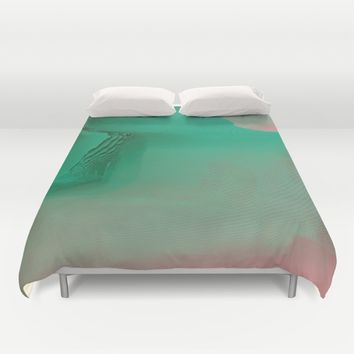 The Valley Duvet Cover by Ducky B