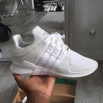 "Fashion ""Adidas"" Equipment EQT Support ADV White Casual Sports Shoes"