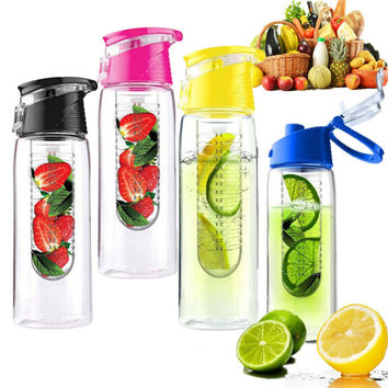 800 ML Cycling Sport Fruit Infuser Water Bottle