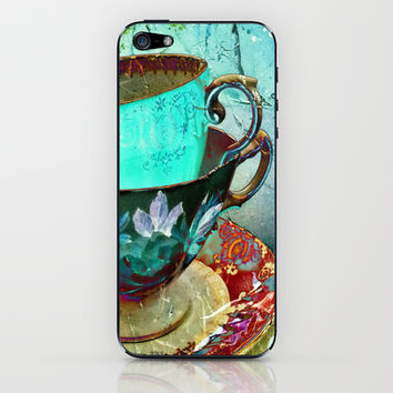 Madhatter's Teaparty No.30 iPhone & iPod Skin by AlyZen Moonshadow
