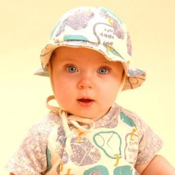Blue Pear Organic Sun Hat
