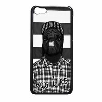Funny Pug Life 2 iPhone 5c Case
