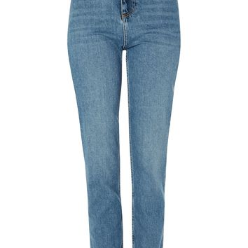 MOTO Authentic Straight Leg Jeans | Topshop