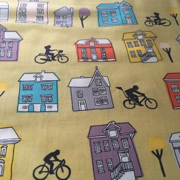Windham Fabrics - Ride - Community village by Julia Roth - Pat#37052