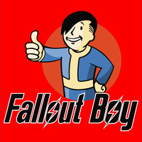 "Fall Out Boy and Pipboy Mash up ""Fallout Boy"" T-Shirt"