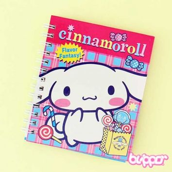 Cinnamoroll Flavor Fantasy Hardcover Coil Notebook