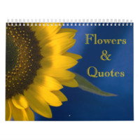 Flowers and Quotes 2015 Calendar