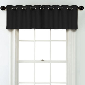 JCPenney Home Linen Grommet Unlined Tailored Valance - JCPenney