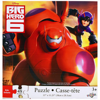Big Hero 6 Jigsaw Puzzle [48 Pieces]