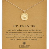 Women's Dogeared St. Francis Pendant Necklace