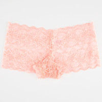 Lacey Boyshorts Coral  In Sizes