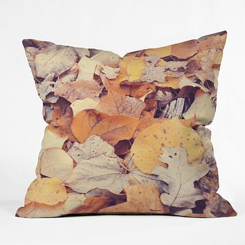 Bree Madden Fallen Leaves Throw Pillow