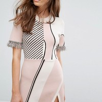 Weekday Press Collection Jacquard Knitted Dress at asos.com