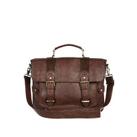 River Island MensBrown satchel bag