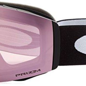 Oakley Fall Line Snow Goggles, Matte Black Frame, Prizm High Intensity Pink Iridium Lens, Medium