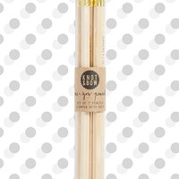 Knot & Bow 'Me & You' Natural Wooden Pencils (Set of 7)