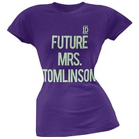 One Direction - Future Mrs. Tomlinson Juniors T-Shirt