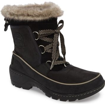SOREL Tivoli II Insulated Winter Boot with Faux Fur Trim (Women) | Nordstrom