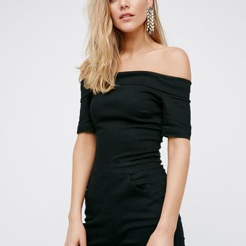 Free People Off The Shoulder Romper