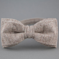 Light Brown Bow Tie for Men Wool Bow Tie Mens Bow Tie Gift for Men Wedding Bow Tie Women Bow Tie Gift for Husband Mens Christmas Gift BowTie