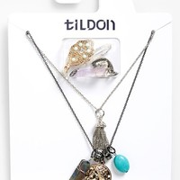 Women's Tildon Build Your Own Multistrand Charm Necklace