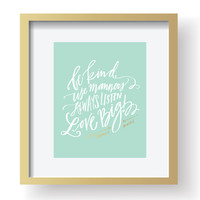 Family Rules - Art Print