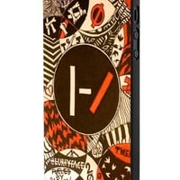 Twenty One Pilots Blurry Face Art iPhone 5 Case Hardplastic Frame Black Fit For iPhone 5 and iPhone 5s