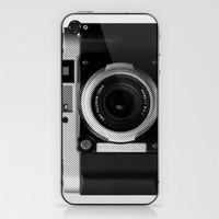 35mm Camera iPhone & iPod Skin by Romi Vega | Society6