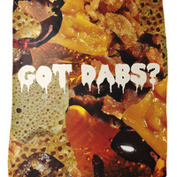 Got Dabs Fleece Blanket