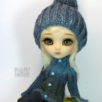 Unique- Sweater/Cardigan for Pullip & Blythe Dolls
