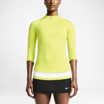 Nike Baseline Half-Zip Women's Tennis Top