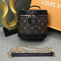 Louis Vuitton LV Women Fashion Leather Handbag Tote Bucket Bag Shoulder Bag