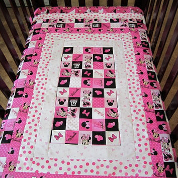 Custom Order Minnie Mouse Crib Set