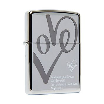 Zippo T LOVE NI / Made in USA /South Korea Version /GENUINE and ORIGINAL Packing