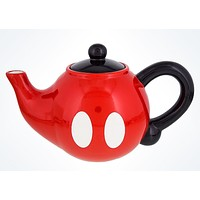 disney parks best of mickey dolomite teapot shorts design new with tags