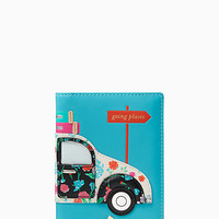 scenic route car applique passport holder
