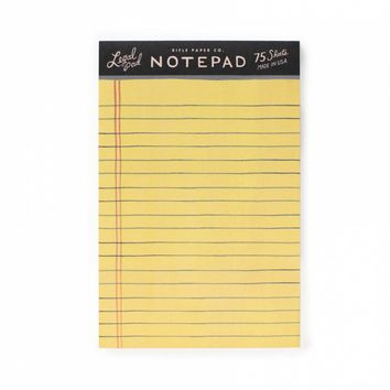 Legal Notepad by RIFLE PAPER Co. | Made in USA