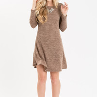 Joelle Tan Sweater Dress