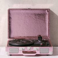 Crosley Pink Foil Cruiser Bluetooth Record Player | Urban Outfitters