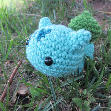 Made to Order - Chibi Pokemon Amigurumi - Bulbasaur