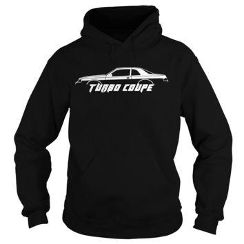 Turbo coupe silhouette turbo coupe 9th gen (1988) shirt Hoodie