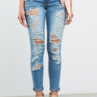 Ace Distressed Skinny Jeans