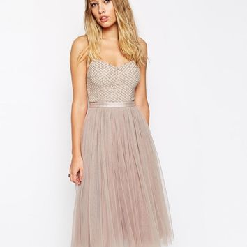 Needle & Thread | Needle & Thread Embellished Coppelia Ballet Dress at ASOS