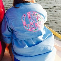 Men's Lilly Pulitzer Monogrammed Fishing Shirt