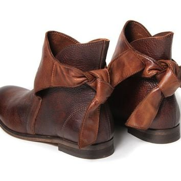 Etty Brown | Ankle Boot | H by Hudson