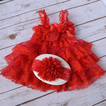 Cake Smash Outfit Girl, Baby Girls 1st Birthday Outfit, Smash Cake Outfit, 1st Birthday Girl Outfit, 2nd Birthday Outfit Girl. Red Dress